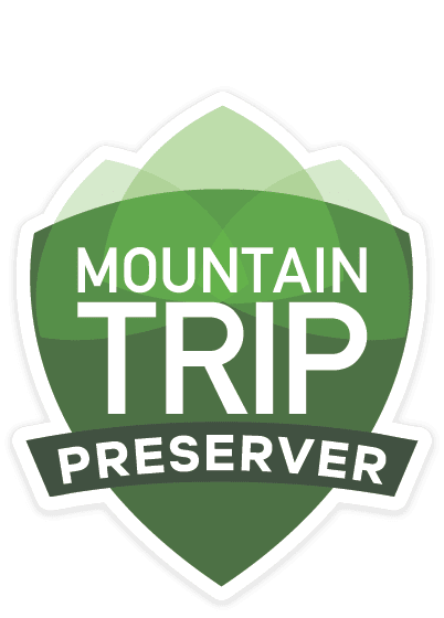 Mountain Trip Product Badge