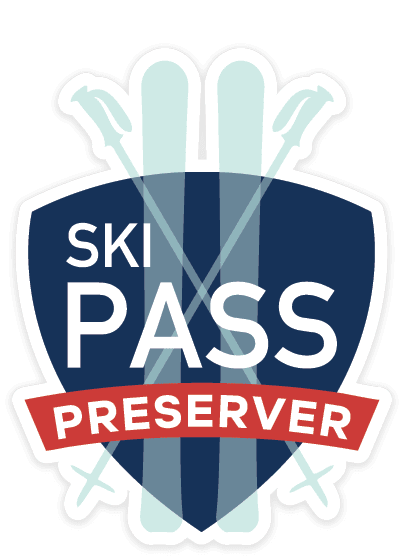 Ski Pass Product Badge