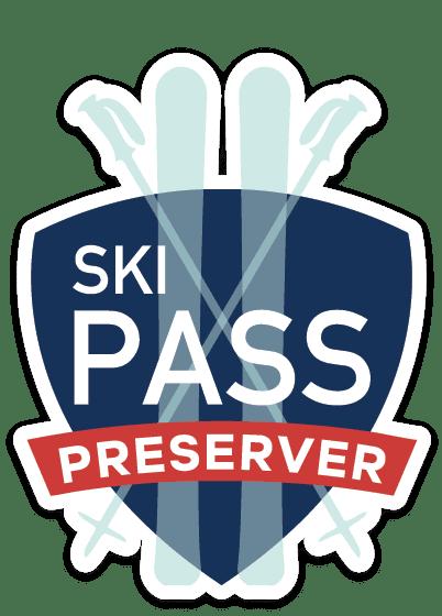 Ski Pass Product Badge