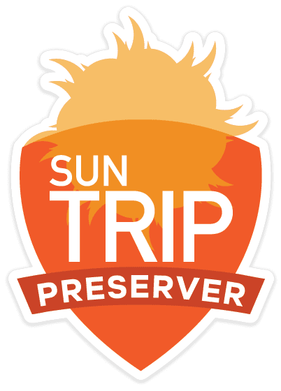 Sun Trip Product Badge