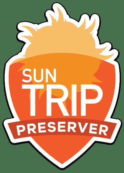 Sun Trip Product Badge